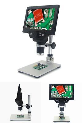 Mustool G1200 Digital Microscope 12mp 7 Inch Large Color Screen Large Base Lcd D