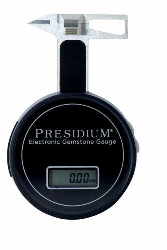 Presidium Electronic Gemstone Gauge with Digital Display,  Measures 0.01-25 mm