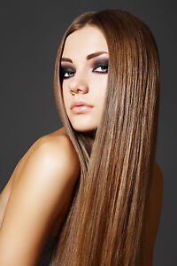 HAIR HAIRDRESSING HAIRSTYLE HEALTH BEAUTY POSTER PRINT A4 260GSM