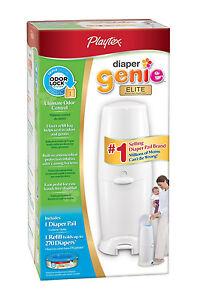 Diaper-Genie-II-Elite-Pail-System-BRAND-NEW-FAST-SHIP