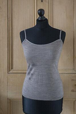Icebreaker Merino Cami Vest Slim Fit with Adjustable Straps_ Size XS