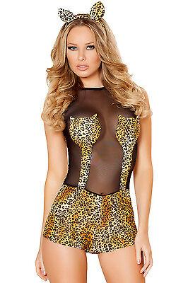 Costume gattina sexy costume gatta sexy leopardo travestimento carnevale donna