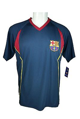 FC Barcelona Soccer Official Adult Poly Jersey P014 Rhinox - S 0eda783100c98