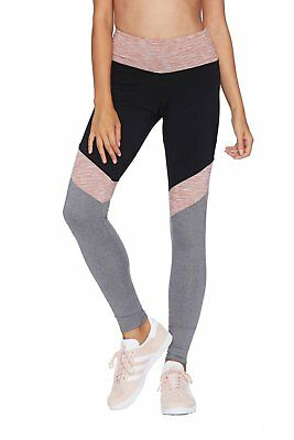 Beach Riot Lacy Legging Yoga Pant Black Pink Gray ()