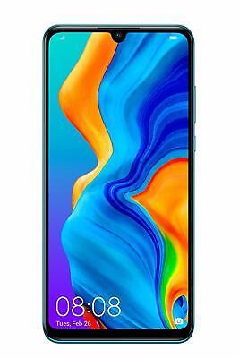 """SMARTPHONE HUAWEI P30 LITE PEACOCK СИНИЙ СИНИЙ 6.15 """"4GB 128GB ДВОЙНАЯ СИМ ГАР.24 МЕСЯЦЫ"""