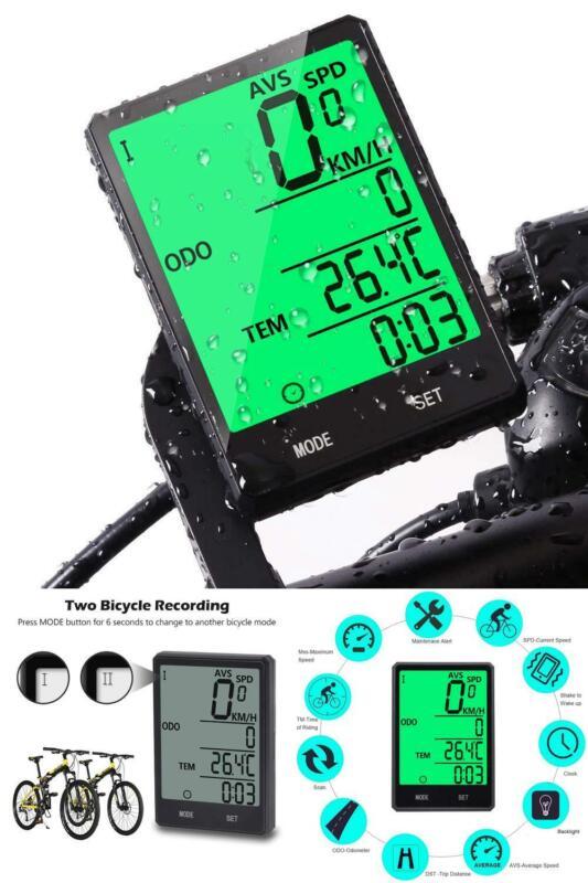 Velocimetro Para Bicicleta Con 20 Funciones Velocidad Distancia Calorias Reloj +