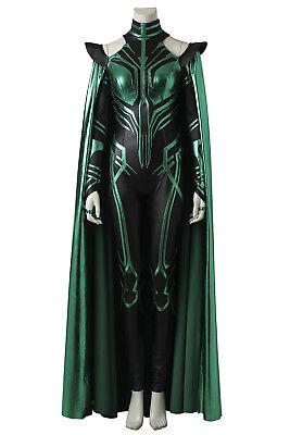 THOR 3 Ragnarok Trailer Hela Outfits Robe Cosplay Costume Halloween Custom Made (New Halloween 3 Trailer)