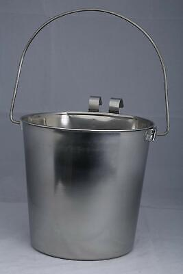 Flat Sided Pail (  Heavy Duty Flat Sided Stainless Steel Pail, 1-Quart  Dog Supplies )