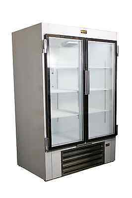 Cooltech 48 Beer Soda Beverage Glass Door Refrigerator Cooler