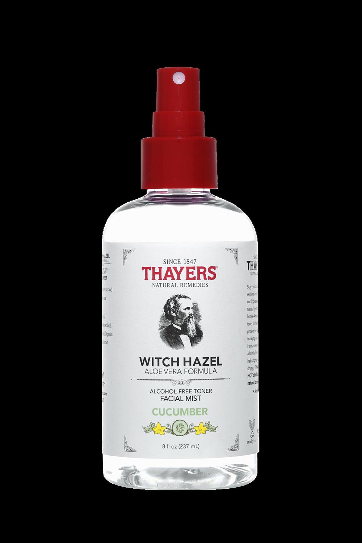 witch hazel alcohol free toner facial mist