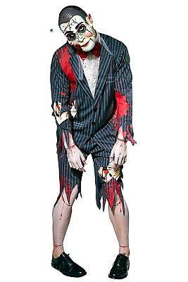 Ventriloquist Halloween Costume (Putrid Puppet Costume Master Ventriloquist Dummy Fancy Dress Adult Halloween)