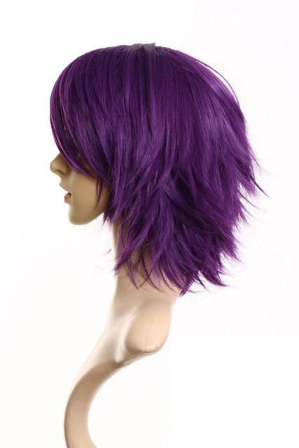 Women's Girls Short Straight Hair Wigs Cosplay Party Carnival Halloween Hair Wig | eBay
