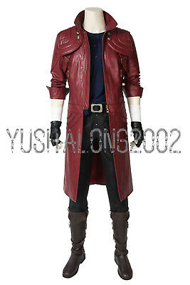 Devil May Cry 5 Dante Cosplay Kostüm Costume Outfit Halloween Shoe