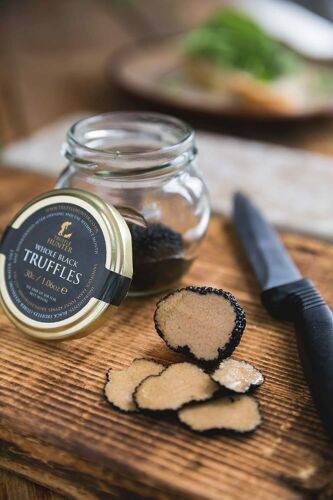 NEW & Sealed Truffle Hunter Whole Black Truffles 30g/1.06oz Jar