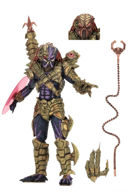 "Predator - 7"" Scale Action Figure - Ultimate Lasershot Predator - NECA"