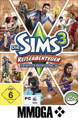 Sims 3 - Reiseabenteuer Key / World Adventures EA/ORIGIN Download Code Addon PC (Sims 3 Downloads)