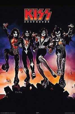 KISS - DESTROYER POSTER - 24x36 ROCK BAND SIMMONS MUSIC 241041
