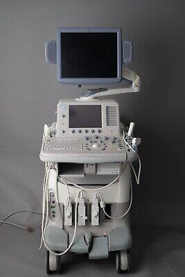 Ge Logiq 7 3d Ultrasound Machine - Includes 12l 3.5c 3s Probes