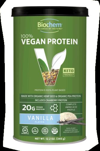 BioChem Vegan Protein Vanilla 12.2oz
