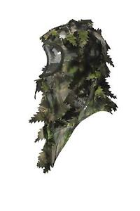 Hunting Full Cover Leafy 3D Face Mask Camouflage Leaf Pattern For Ghillie Suit