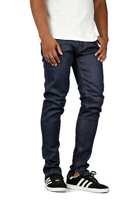 KDNK Men's Raw Denim Ankle Zip Jeans Kayden K -