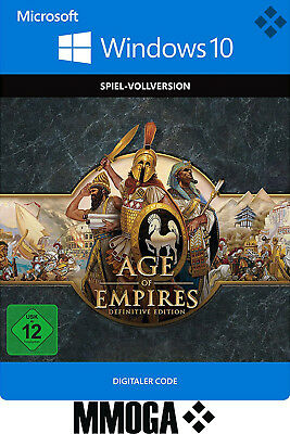 Age of Empires Definitive Edition Key - Windows 10 PC Digital Spiel Code - DE/EU
