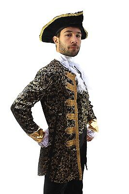 Kostüm EDELMANN Pirat Nobleman Kapitän BAROCK Karibik Mittelalter Herren - Edelmann Kostüm