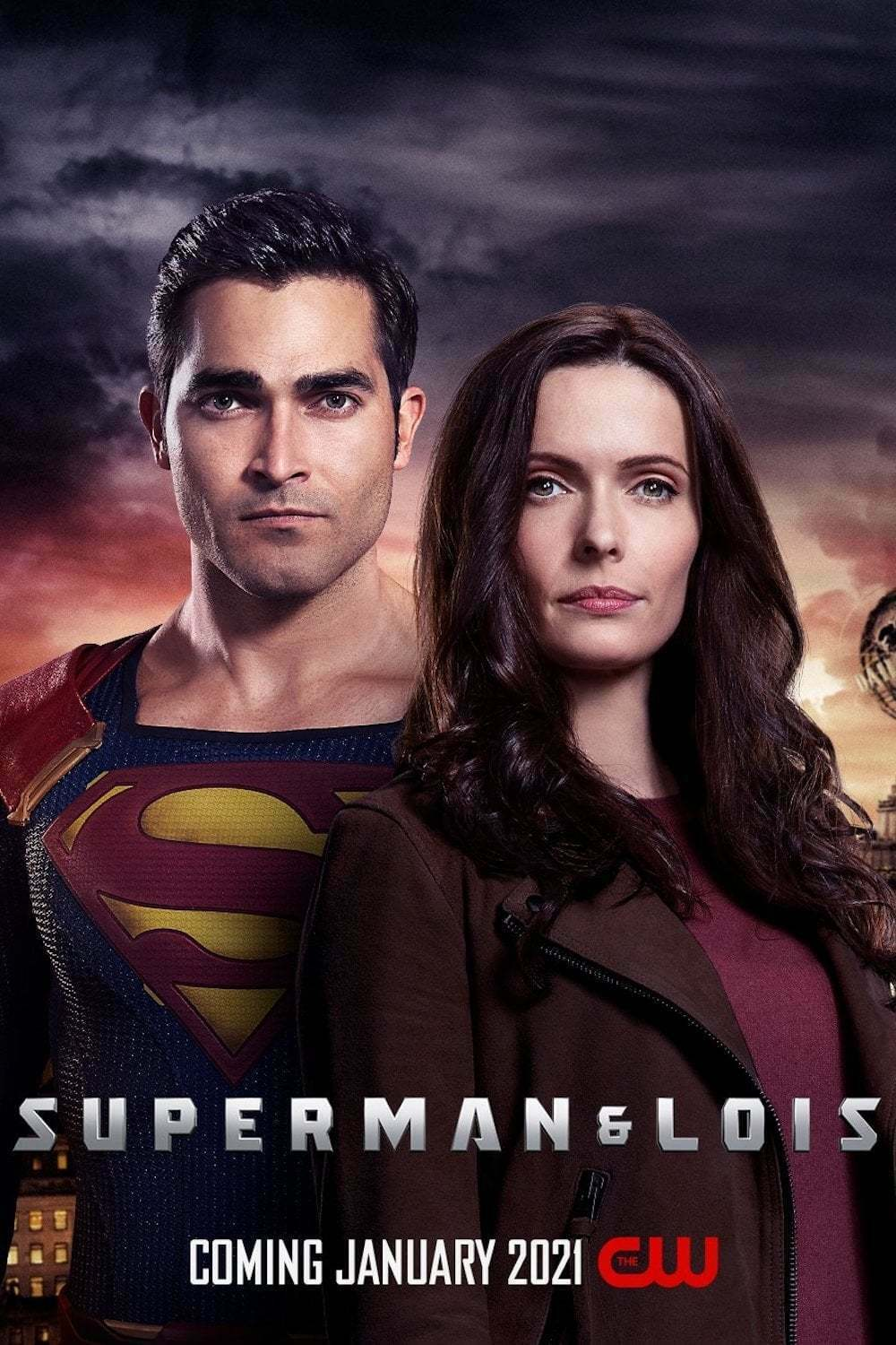 """CW-SUPERMAN AND LOIS 11""""x17"""" TV SERIES POSTER PRINT #1"""