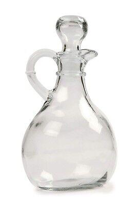 Oil Syrup - Norpro Oil Vinegar Glass Cruet 11 Oz Salad Dressing Vinegarette Syrup Dispenser