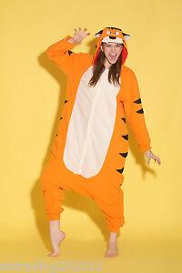 Adult Fleece Unisex Onesies Kigurumi Animal Pajamas Cosplay Costume Sleepwear