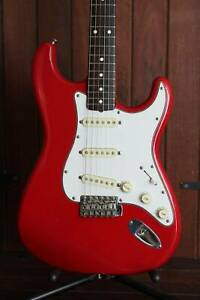 Squier JV Stratocaster 1984-87 Dakota Red Guitar Mount Lawley Stirling Area Preview