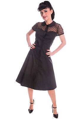 zeinsatz Bubikragen Petticoatkleid Swing Kleid (Herz Swing)