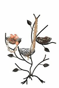 Geff-House-Bird-Nest-Jewelry-Tree-Organizer-Display-Antique-Color