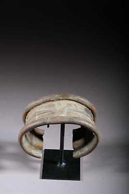 Art African Bracelet Gan Bronze