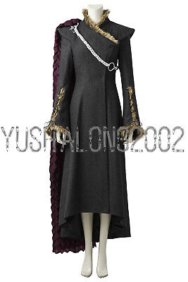 Dany Targaryen Kostüme (Game of Thrones S 7 Daenerys Targaryen Dany Cosplay Kostüm  Costume Schuhe V3)