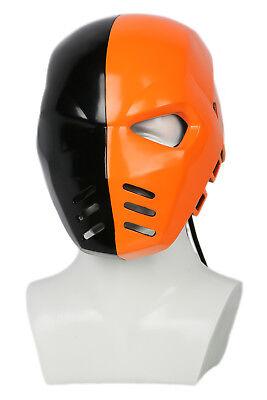 Deathstroke Full Costume (Deathstroke Helmet Arrow season 5 Cosplay Full Face Mask Resin Costume)