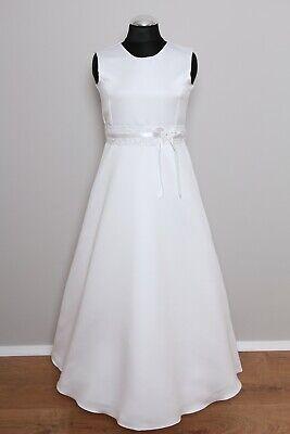 LE08 - Kommunionkleid Kommunionskleid Erstkommunion Kleid inkl. Reifrock