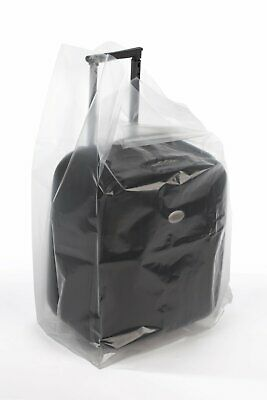 Clear Gusseted Poly Bags Roll - 24x24x48x3 mil(Roll of 50)