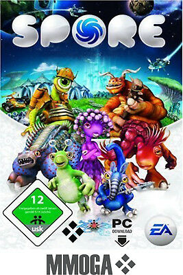Spore Key - EA Origin Digital Code - PC Strategie Spiel [DE/EU]
