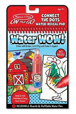 Melissa & Doug Water Wow Connect The Dots Water Reveal Pad **NEW**](Melissa & Doug Water Wow)