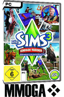 Die Sims 3 Einfach tierisch / Sims 3 Pets EA/ORIGIN Download Code [PC][DE] Addon (Sims 3 Downloads)