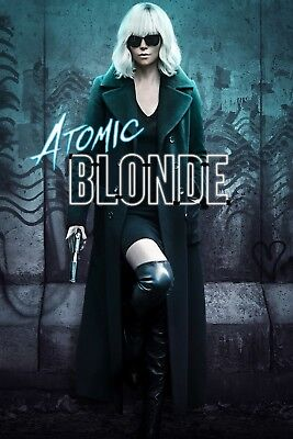 ATOMIC BLONDE - DVD DISC ONLY - CHARLIZE THERON - JAMES MCAVOY
