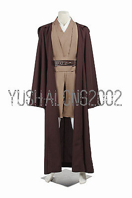 Star Wars Episode Mace Windu Jedi Knight Cosplay Kostüm Halloween Costume Outfit