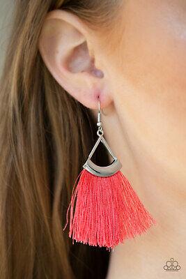 Paparazzi ~Tassel Tuesdays - Orange~ Earrings RARE! New Release Coral - Gorgeous Tassel Earrings