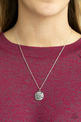 Paparazzi ~Sand Dollar Shores - Silver~ Necklace New Release Summer!