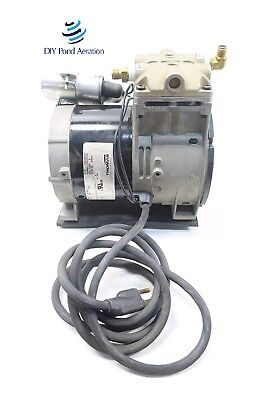 New Thomas 688ce44 Piston Air Compressorvacuum Pump Aerator 13hp Wcord