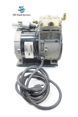 New Thomas 688ce44 Piston Air Compressorvacuum Pump Aerator 13hp Wcord