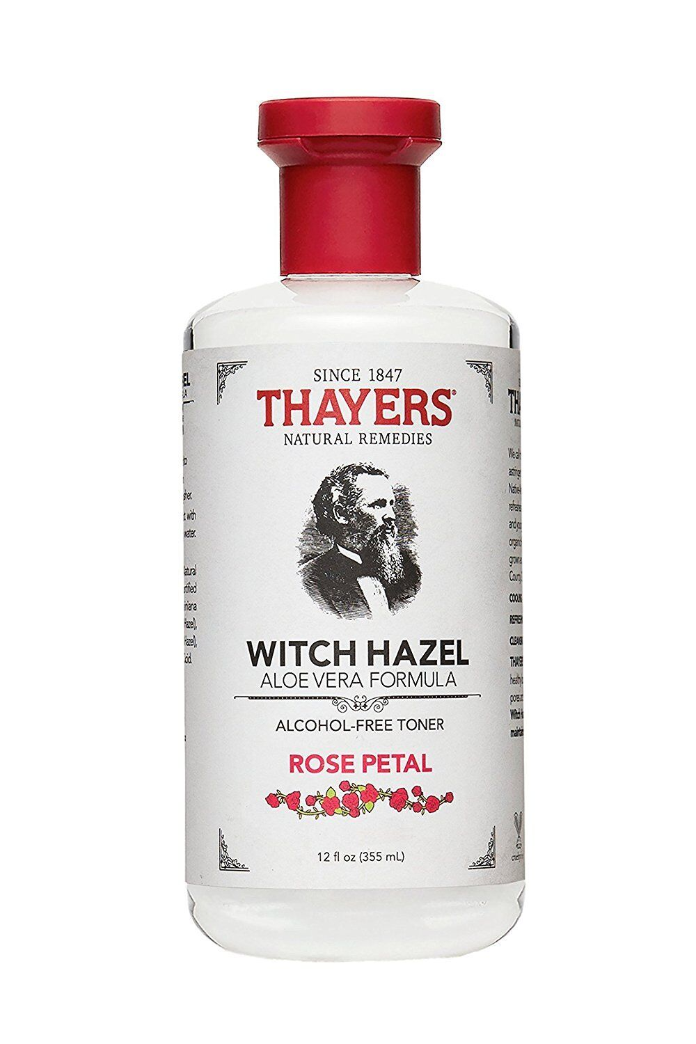 Thayers Witch Hazel with Aloe Vera, Alcohol Free, Original 12 oz (Pack of 4) 2 Pack - Farmstead Apothecary Face Cream, Lemon Lavender 4 oz