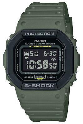 Casio G-Shock DW5610 Digital Resin Army Green/Black Men's Watch DW5610SU-3