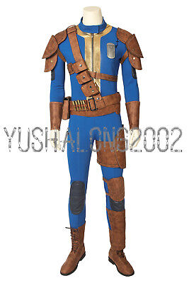 FALLOUT 76 Spiel Game Cosplay Kostüm Costume Outfit Halloween Shoe (Fallout Cosplay Kostüm)